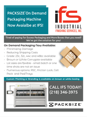 PACKSIZE On Demand Packaging Machine Now Available at IFS!